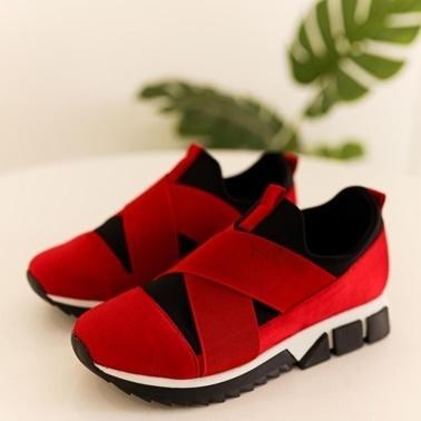 Limoya Sneakers Kırmızı